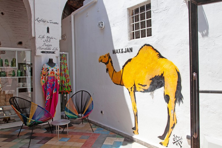 Max&Jan Boutique and shops in the Medina, Mrarakech - Morocco