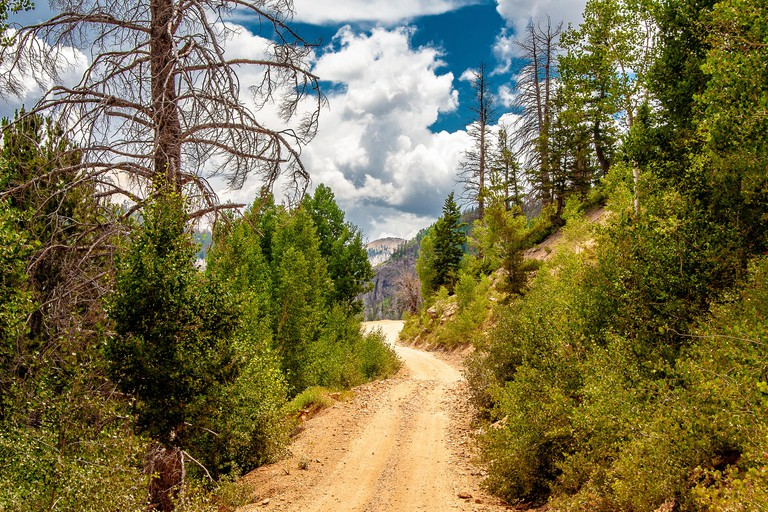 Near Marysvale, Utah which is located at the heart of Utah's famous Paiute ATV Trail. Ties into many miles of beautiful off-road trail system