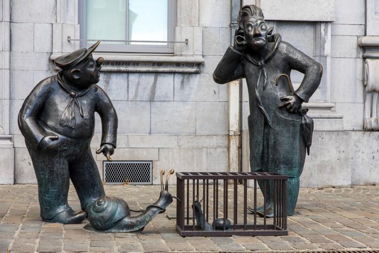 Namur, Belgium, Place d'Armes