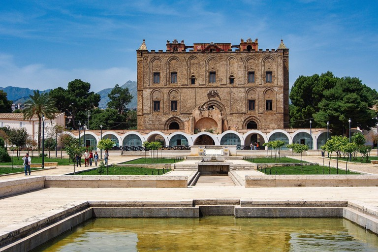 La Zisa in Palermo, one of the best preserved Norman castles in Sicily