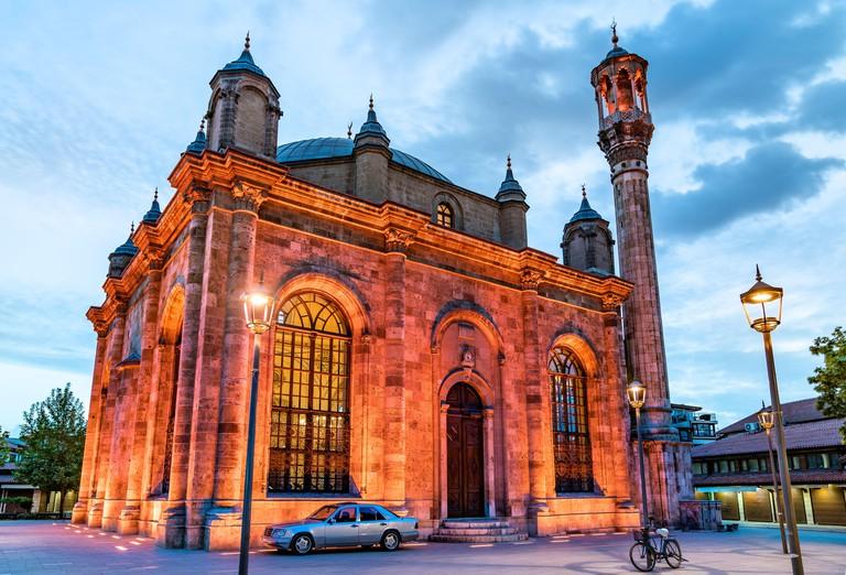 Aziziye Mosque in Konya, Turkey