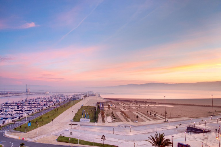 Tangier seafront, Morocco