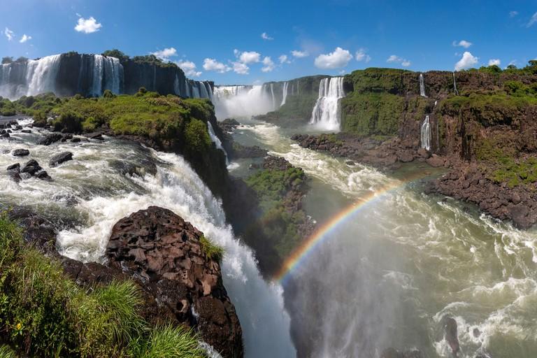 Iguacu Falls (Foz do Iguacu), Brazil.