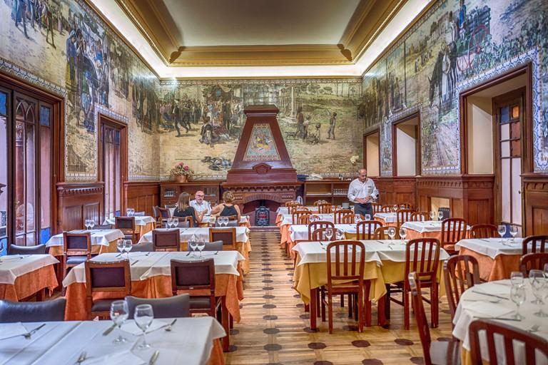 Portugal, Lisbon, 10.07.2018. Casa do Alentejo in Lisbon on 10.07.2018. The House of Alentejo was built in 1932 by rich landowners from the Alentejo region. [automated translation]