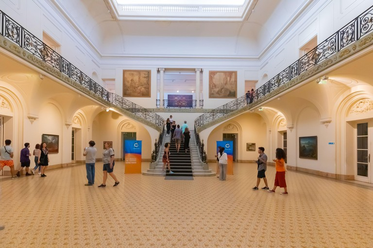 Cordoba Argentina Evita Museum of Fine Arts. Image shot 02/2020. Exact date unknown.
