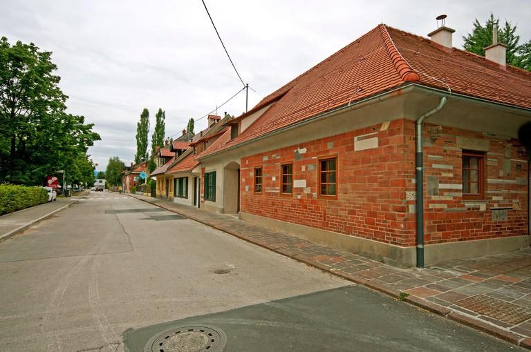 House of the slovenian architect Jo?e Plecnik (1872-1957), Ljubljana, Slovenia