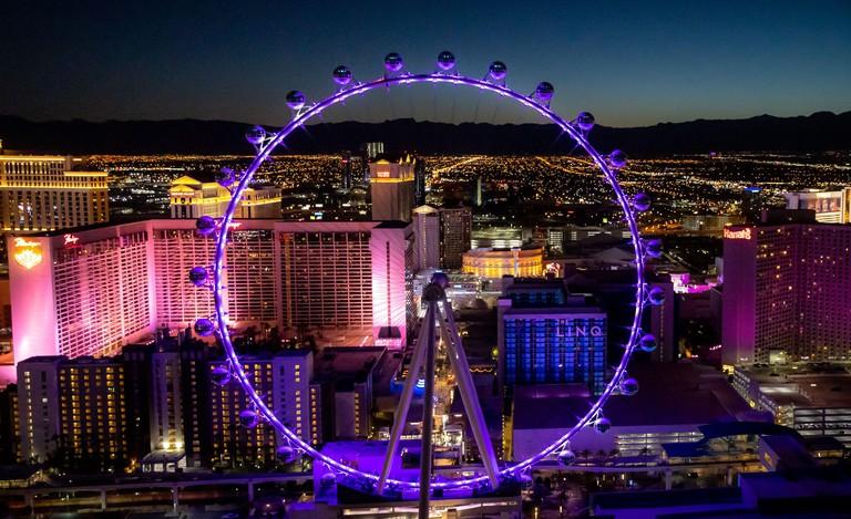 Las Vegas, NV, USA. 9th July, 2020. Aerial Views of The Las Vegas Strip in Las Vegas, NV on July 9, 2020. Credit: Erik Kabik Photography/Media Punch/Alamy Live News