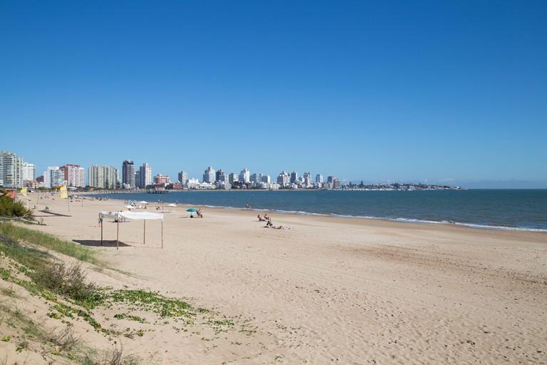 2CCTHTR View of Playa Mansa Punta del Este, Maldonado, Uruguay