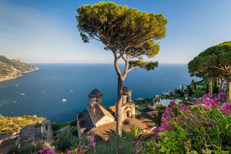 Villa Rufolo, Ravello, Amalfi coast, Campania, Italy