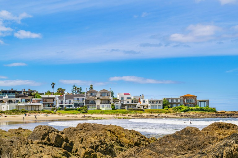 2DG9NW3 La Barra Beach, Punta del Este, Uruguay