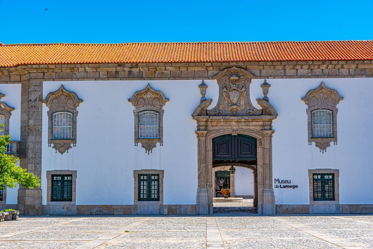 View of the local museum in Lamego, Portugal