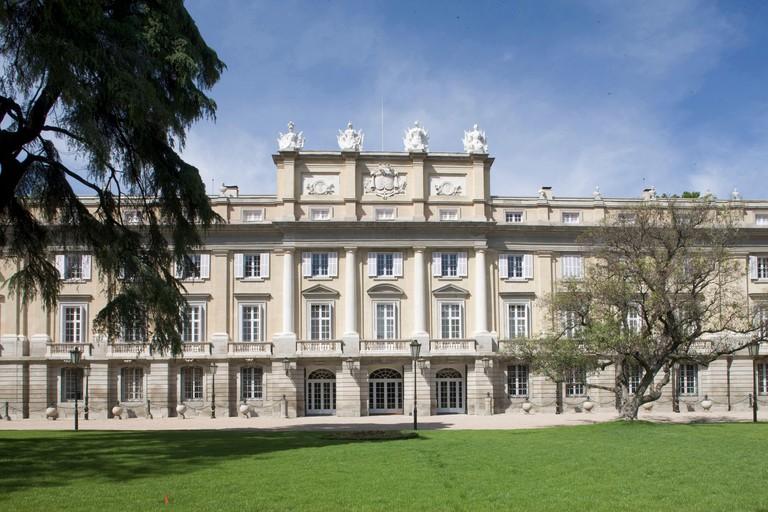 Facade of Liria Palace (Palacio de Liria)