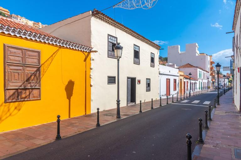 Casa de Colon at San Sebastian de la Gomera, Canary Islands, Spain.