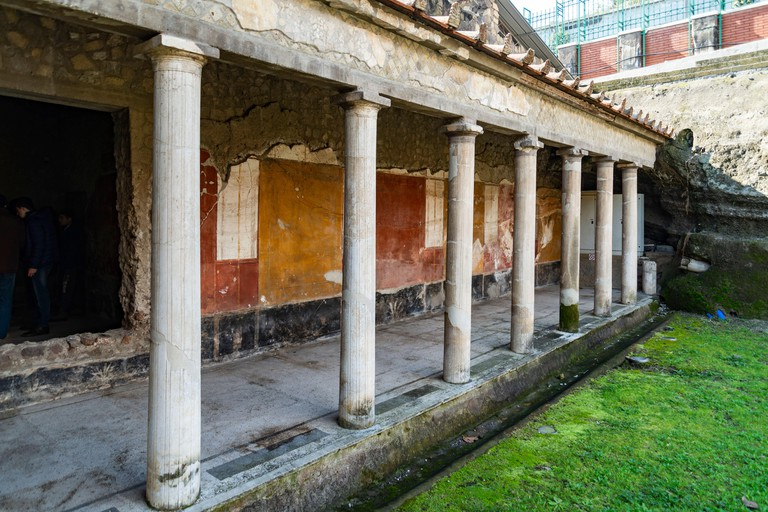 Oplontis Torre Annunziata Italy, Ruins of Poppea's Villa