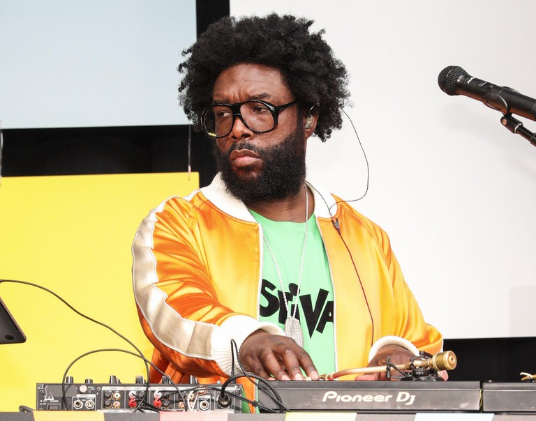 New York, NY, USA. 19th June, 2021. Questlove at arrivals for SUMMER OF SOUL Juneteenth Celebration, Marcus Garvey Park, New York, NY June 19, 2021. Credit: CJ Rivera/Everett Collection/Alamy Live News