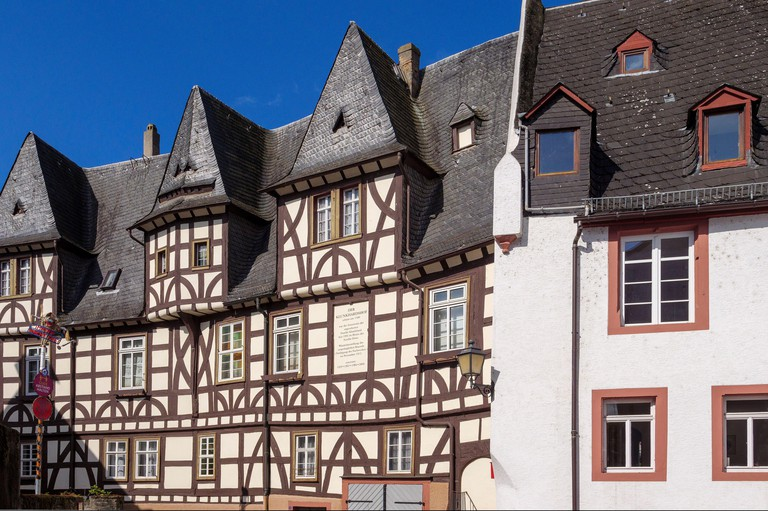 Klunkhardshof in Rudesheim, Hesse, Germany, Europe