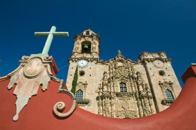 Mexico, Guanajuato State, Guanajuato, Templo de San Cayetano de la Valenciana Church. Image shot 2006. Exact date unknown.