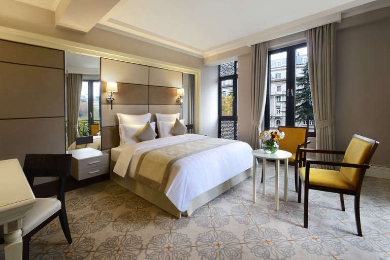 Hotel room at the Ambassadori Hotel Tbilisi