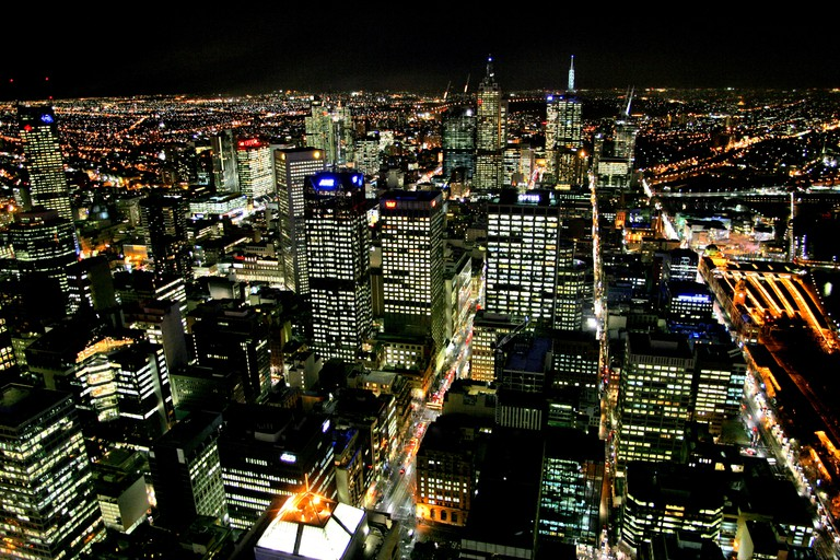 View from Rialto Towers Melbourne