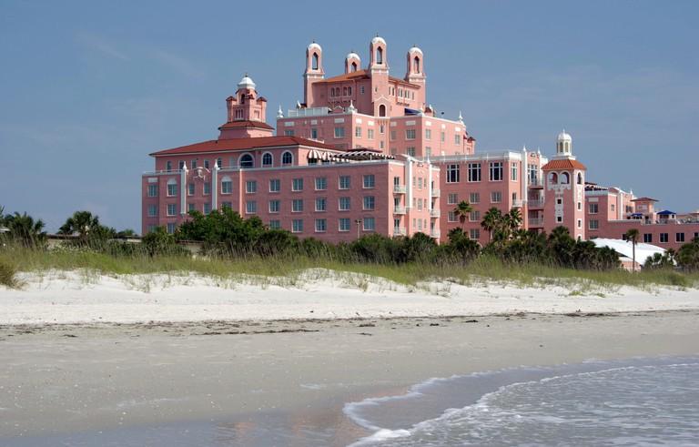 Don CeSar Beach Resort Hotel, St Pete Beach, Florida