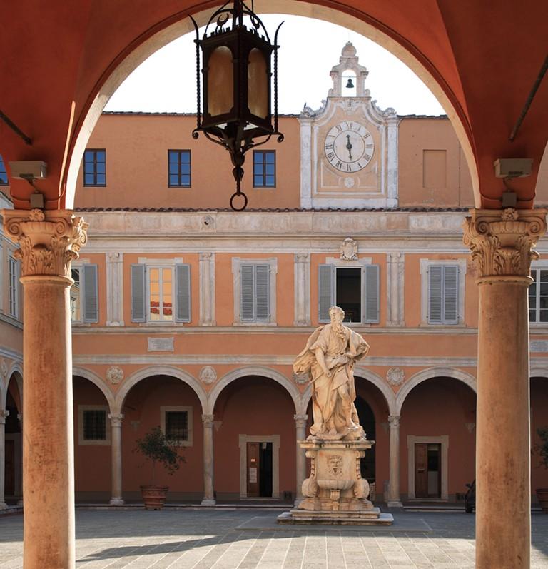 at the piazza museo dell opera del duomo Pisa Tuscany Italy