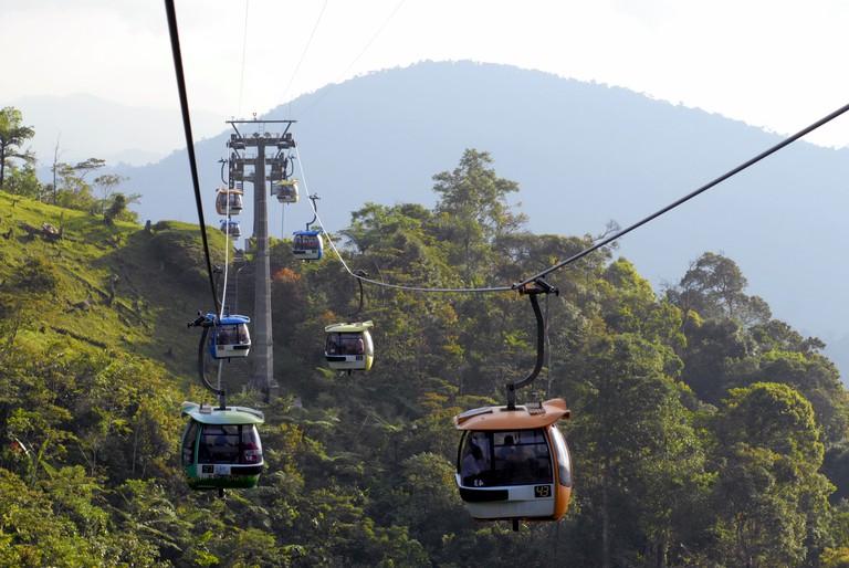 GENTING SKYWAY IN MALAYSIA