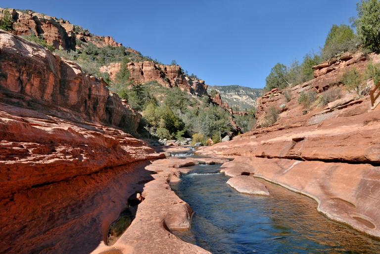 Oak Creek, Slide Rock State Park, Sedona, Red Rock Country, Arizona, USA