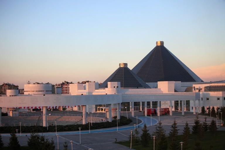 Turkey, Konya, Mevlana Cultural Center