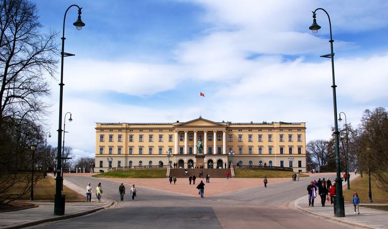 C582PK Royal Palace, Oslo, Norway