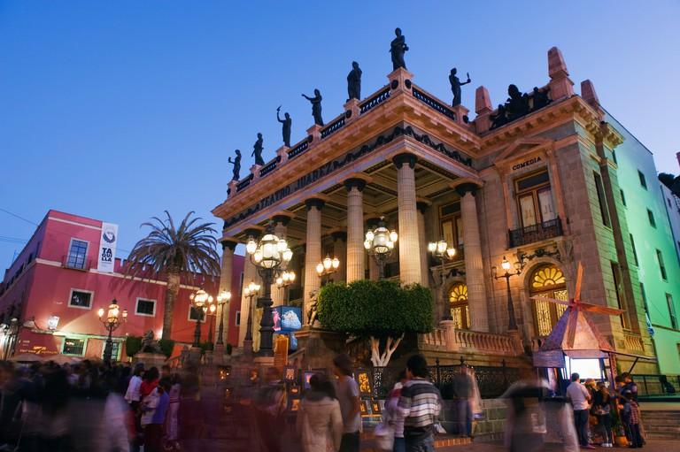 Teatro Juarez, Guanajuato, Guanajuato state, Mexico