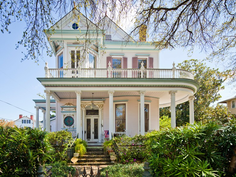 Victorian House at Garden District, New Orleans