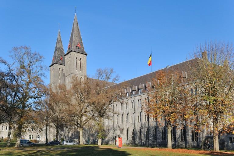 The Maredsous Abbey, a Benedictine monastery at Denee, Belgium