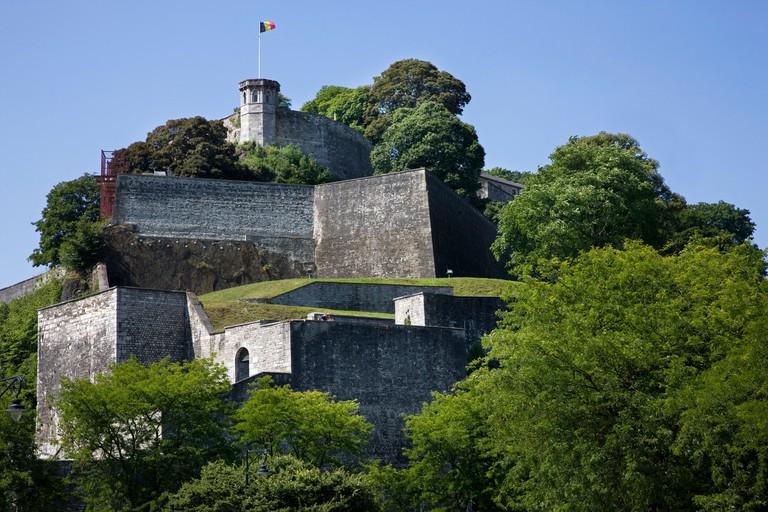 The Citadel / Castle of Namur along the river Meuse, Belgium
