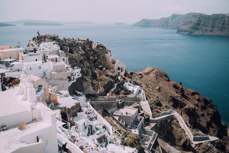 Oia, Greece. charlie-m-6MxxQJtDgak-unsplash