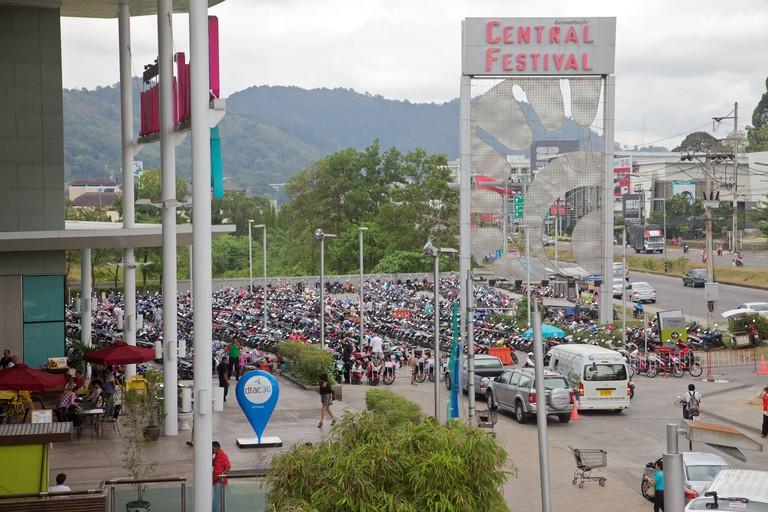 Central Festival shopping mall, Phuket Thailand