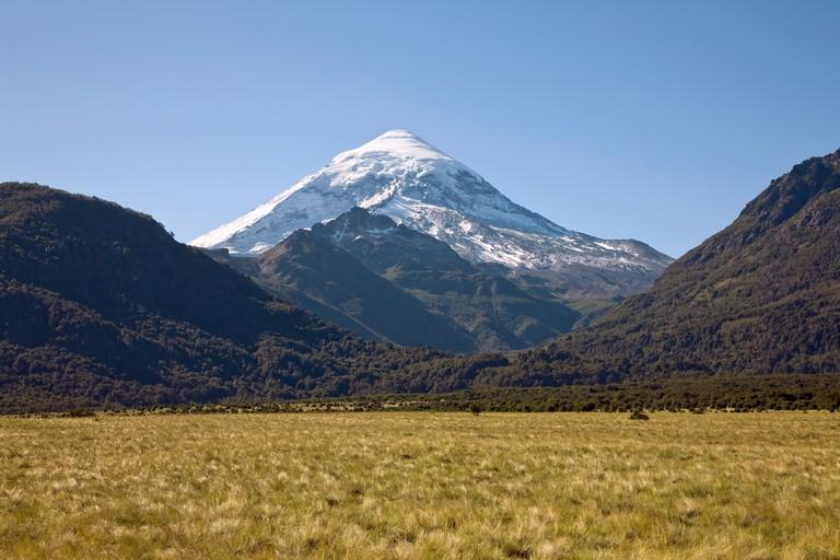 View of Volcan Lanin