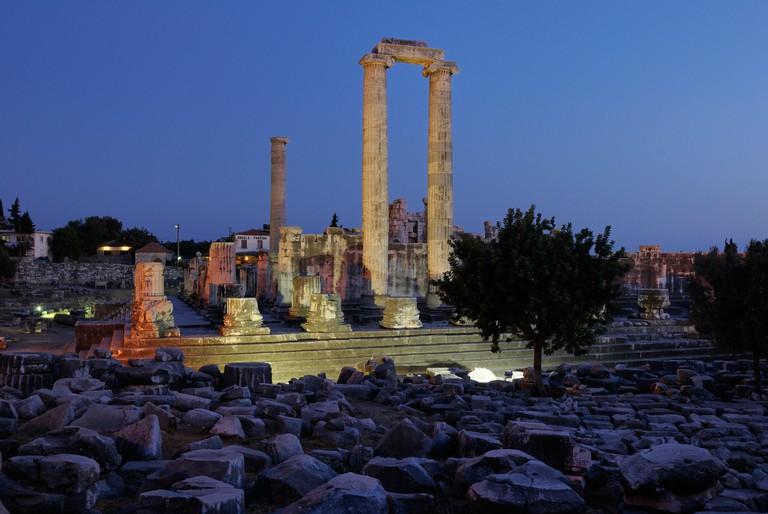 Apollo Temple in Didyma, Turkey