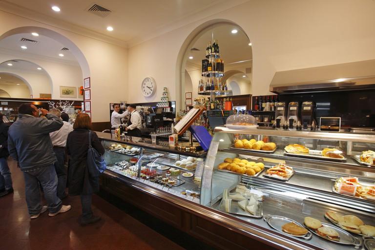 Antico Caffe Spinnato, Palermo, Sicily, Italy