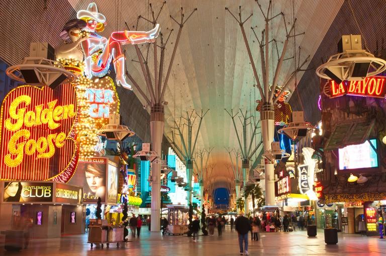 Fremont Street Experience, Las Vegas, Nevada, United States of America, North America