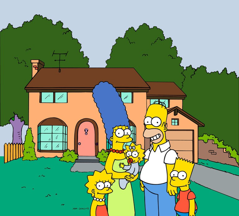 The Simpsons family (TV Series)