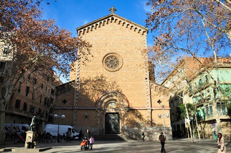 Church of St Joan in Placa de la Virreina.