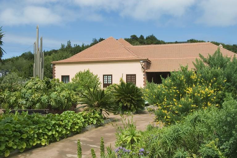 Juego de Bolas, Garajonay National Park visitor´s centre. La Gomera, Canary Islands. Spain