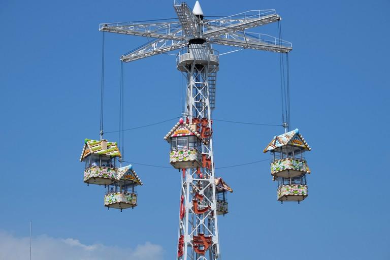 DFE5AH Asakusa Hanayashiki amusement park