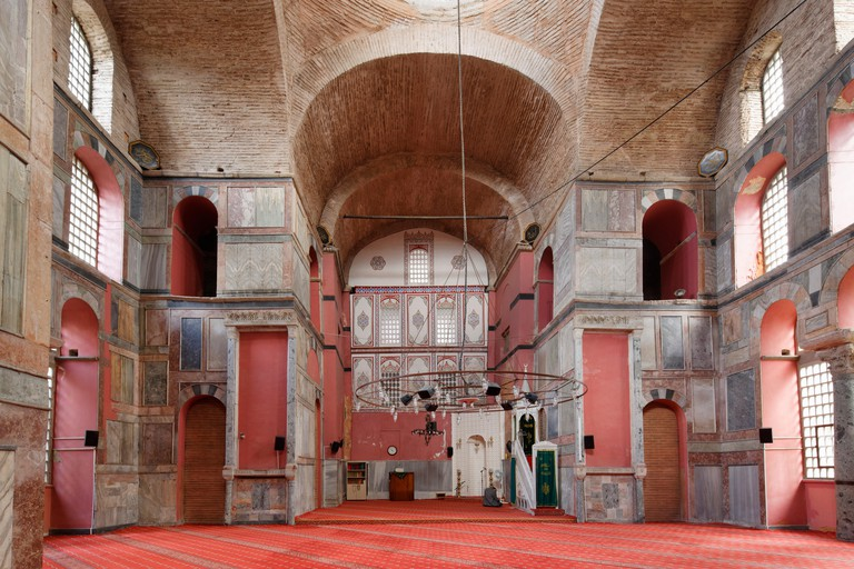 Kalenderhane Mosque, a former Byzantine cross-in-square or crossed-dome church from the 12th century, Vefa neighbourhood in the