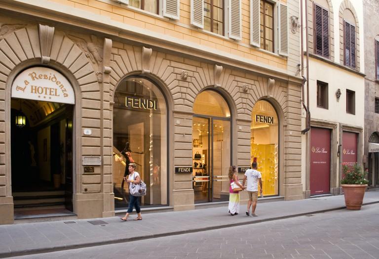 Fendi store, Via Tornabuoni, Florence, Italy
