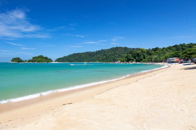 Teluk Nipah Beach on Pangkor Island, Perak, Malaysia