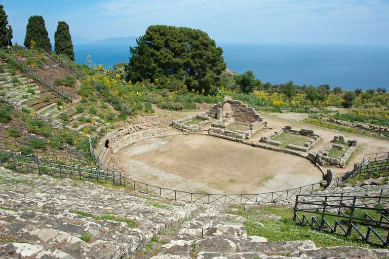 Greek theatre, Tindari