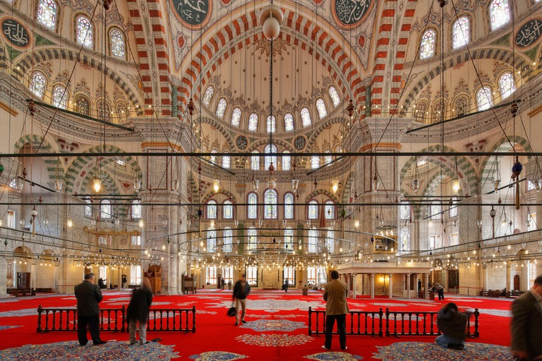 Fatih Mosque, Fatih Camii or Conqueror's Mosque, Fatih district, Istanbul, European side, Turkey