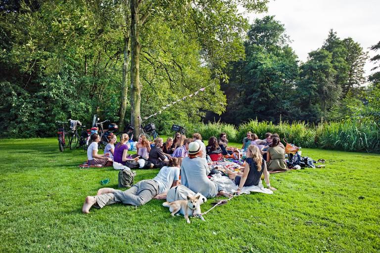 Vondelpark, Vondel park, Amsterdam, Netherlands.