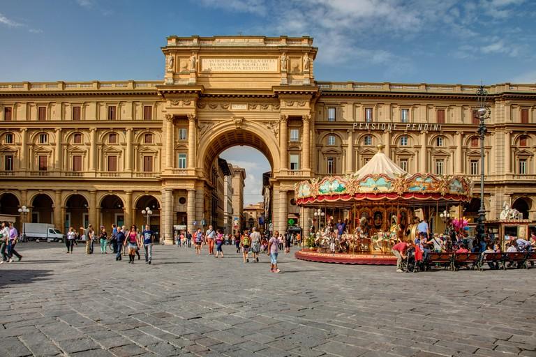 Piazza della Repubblica, Firenze Italia Florence Italy